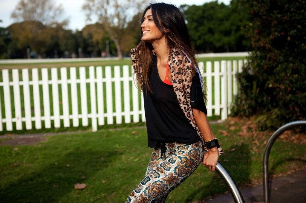 Bianca Cheah, Active wear, Tribal Prints