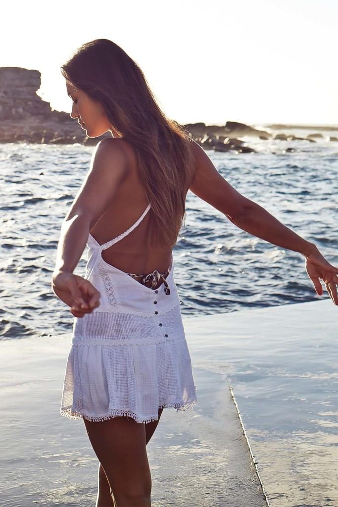 Bianca Cheah, Tigerlily white dress