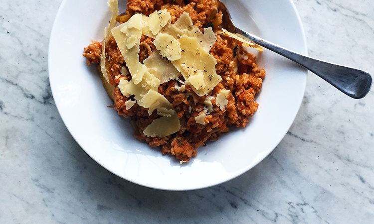 healthy Bolognese recipe