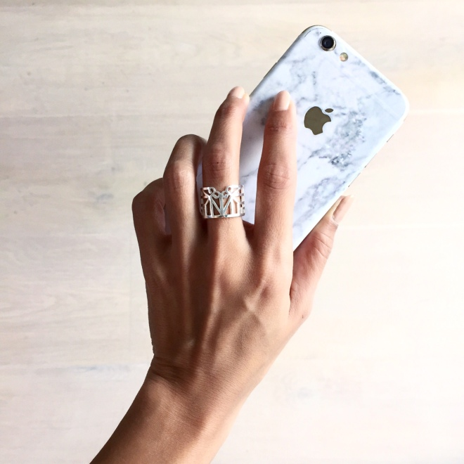 Bianca Cheah, marble iphone case
