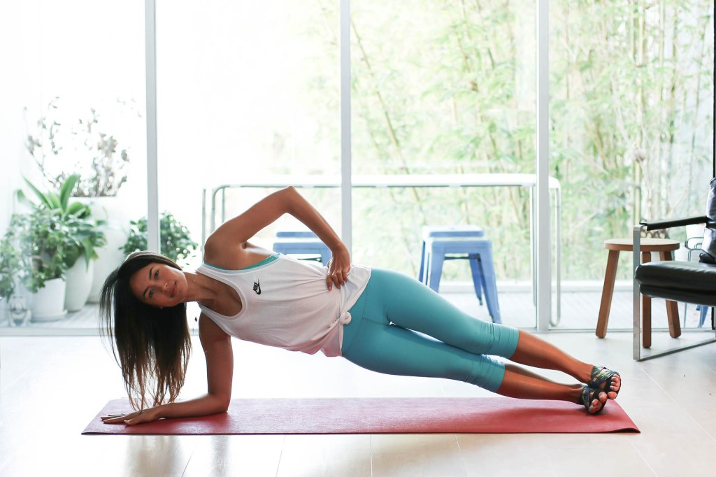 Bianca Cheah, Side Plank
