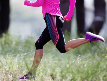 Nike Free RN Flyknit, Bianca Cheah, purple running shoes