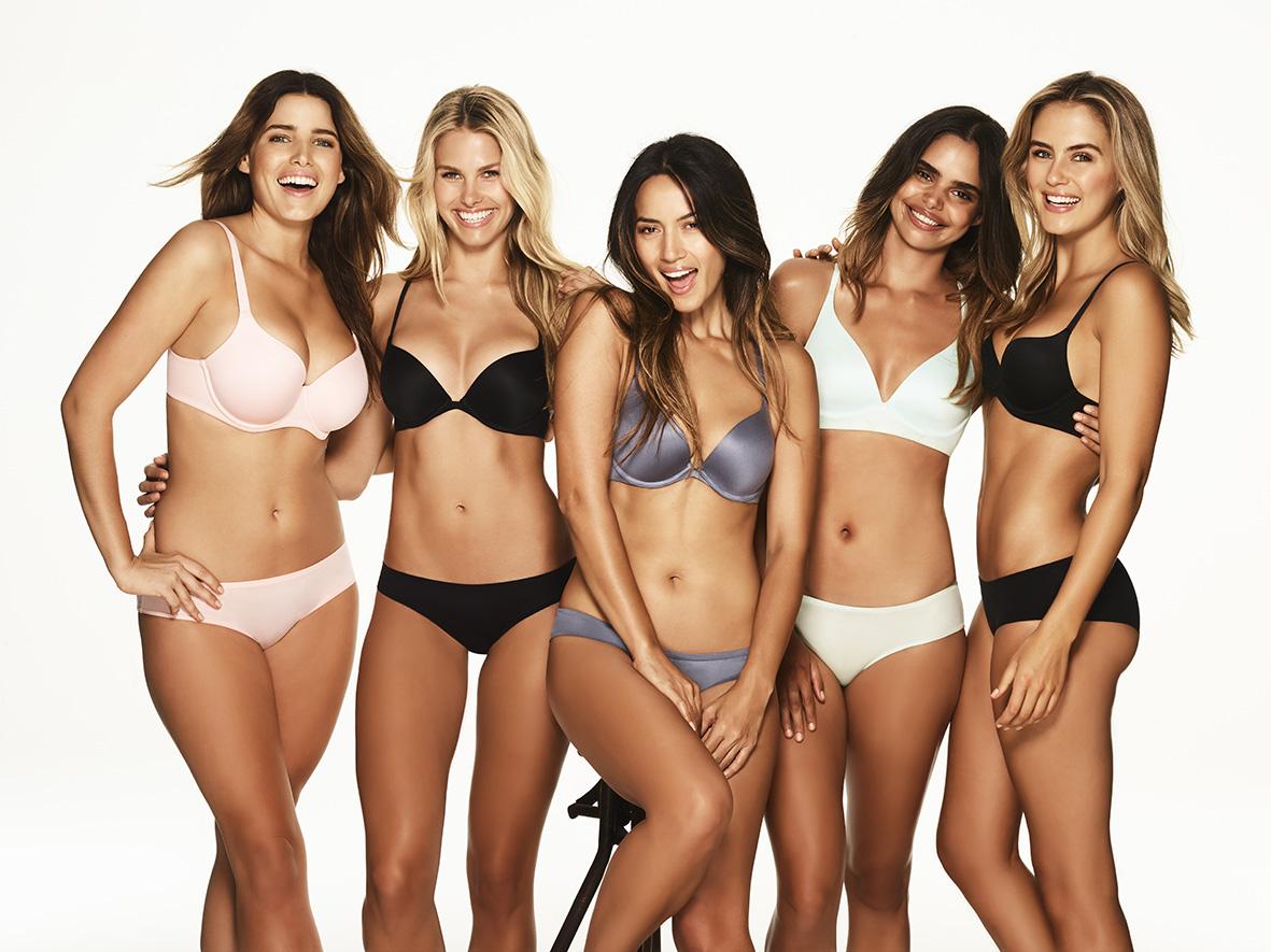 Bianca Cheah, Bras N things, comfortable t shirt bra, than atkinson, natalie roster, Samantha Harris, Stephanie Smith