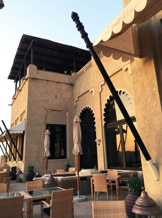 Qasr Al Sarab Anantara, Liwa Desert, UAE desert resort