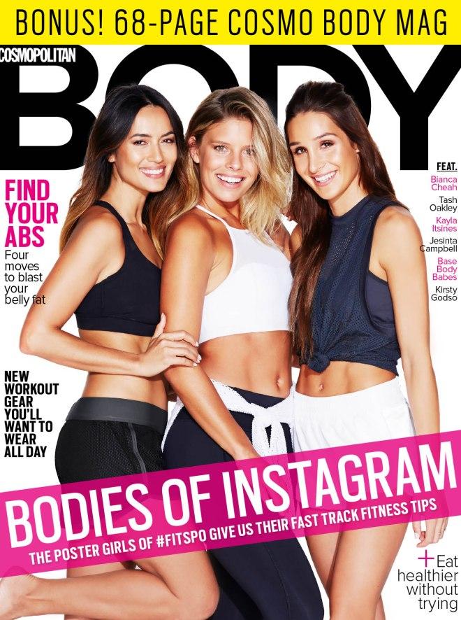 Cosmopolitan Tash Oakley, Bianca Cheah, Kayla Itsines