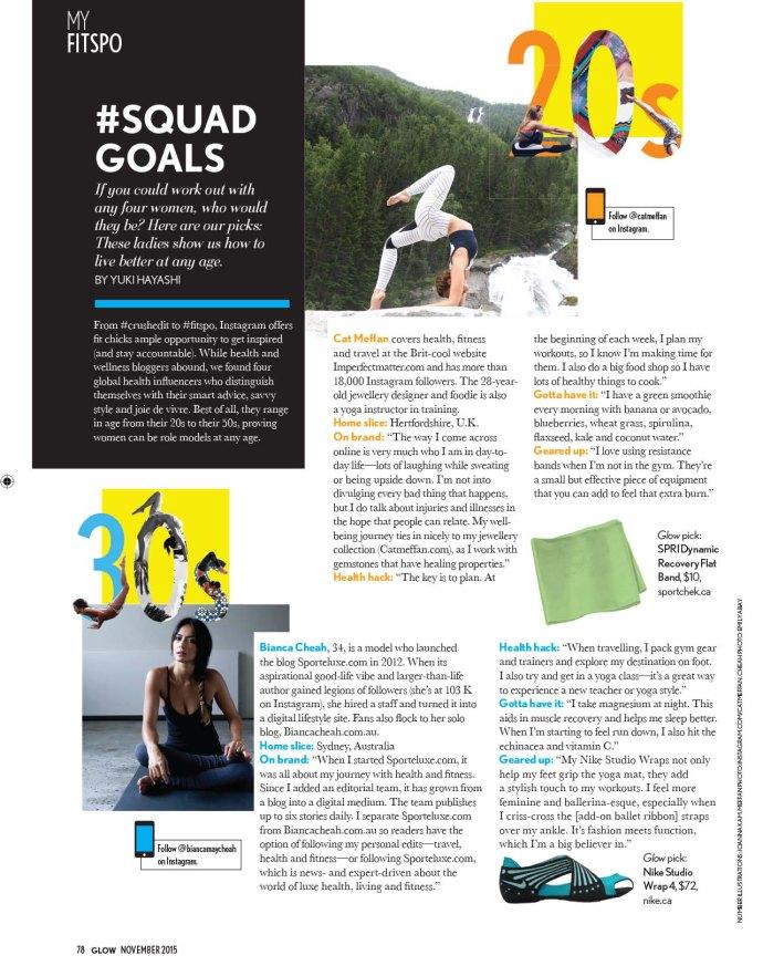Glow Magazine, Bianca Cheah, Bianca Cheah interview