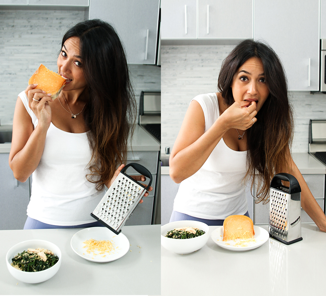 Bianca Cheah, lactose free, hard cheese
