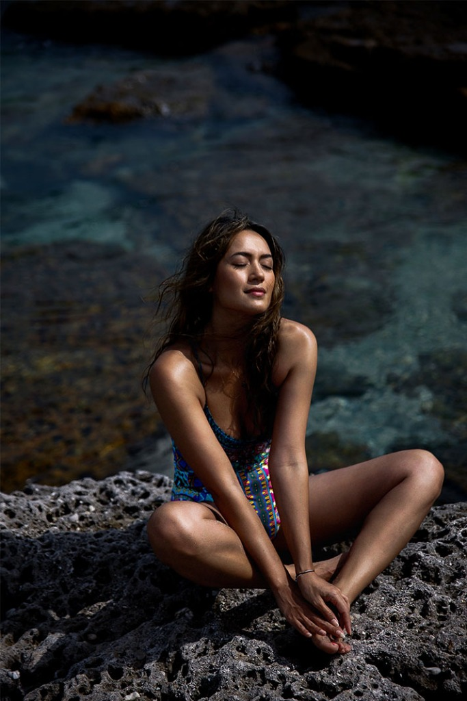 Bianca Cheah, Camilla swimsuit, Jervis Bay