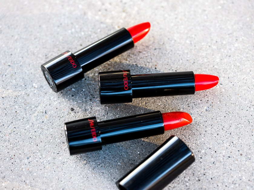 Shiseido Rouge Rouge Red lipstick